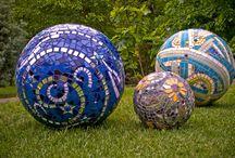balls mosaic