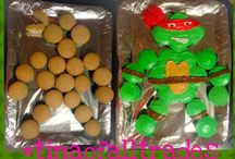 TMNT party cake idead