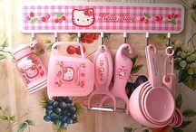 Cutie Kitchen Products / Example pig shaped tea kettle  / by Tina Hammonds