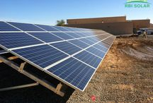 Project Showcase: Yuma, AZ / Location: Yuma, AZ  Type of Installation: Ground Mount  Size: 76.6kW  Module: Yingli YGE 72 Cell - 290W  Module Quantity: 264  Number of Racks: 30  Angle of Tilt: 25º  Foundation Type: Concrete - See more at: http://www.rbisolar.com/casestudy/case-study-46/