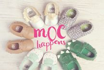Itzy Ritzy Moccasins - NEW / The most adorable moccasins on the market - Itzy Ritzy Mocs! Super soft, breathable and durable leather - Easy on, easy off with elastic opening. These are the perfect baby shower, new mom, christening or first birthday gift! / by Itzy Ritzy