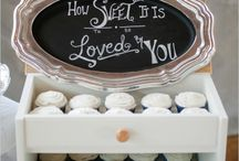 Chalkboards & Signs / Chalkboards & Signs for Weddings, Showers, and Parties / by Brass & Milk Glass