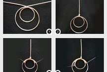 Earrings Wire Weaving