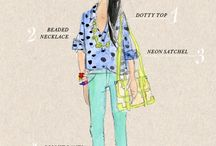 fashion sketches / different inspirational ideas