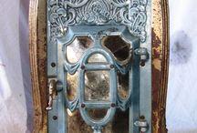 Art Nouveau Stove and Fire Places