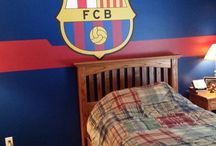 fútbol bedroom