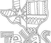 Coloring Pages - Places / by Doodle Art Alley