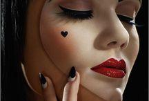 mask and make up