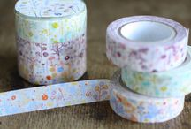 Washi / The wonderful Japanese washi tape - featuring different tapes and also ways to use them