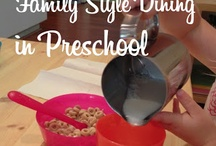 Child Care Family Style Meals / by Rabbit Track Day Care - Emily Pryer
