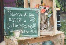Casamento, Noivado e Chá: Decorações / Inspire-se!