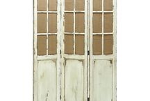 rustic partition wall room dividers