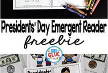 1st Grade Presidents' Day