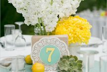 Table name/number, noms de table / Wedding planner & designer, Biarritz, France