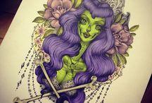 tattoos,art and piercings