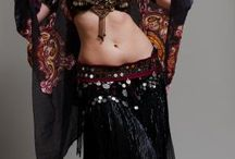 """Bellydance / """"A filmy veil, floating gracefully around a whirling dancer is a special ethereal vision."""" ---Dahlena"""