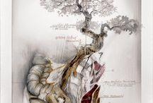The metamorphosis of the arid flesh / Title: The metamorphosis of the arid flesh / Il mutare della carne arida Dim: cm 70x50 Tecnique: oil and pencil on canvas / olio, matita su tela Year: 2014