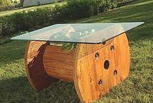 muebles reciclados con palets