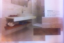 Bathroom / Inspirasjon: fliser, møbler, merker etc.