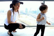 Mommy and Me / Trendy mom and baby looks! Coordinating, twinning, and cute mini-me inspiration.