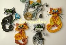 Quilled card ideas
