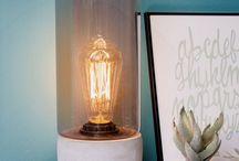Woonaccessoires / Hippe woondecoratie voor thuis: vazen, kaders, klok, bloempotten, muurdecoratie...