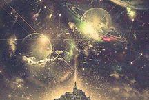 cosmo / estrelas, lua, planetas...