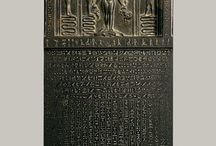Ancient Egyptian Stela / Pin dedicated to Stela and Stelai