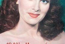 1940s Vintage Makeup