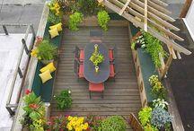 jardines, plantas y huertos / by Rossy Kawande