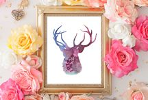 Watercolor Art Print