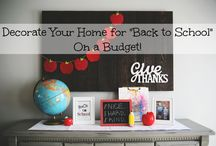 Back to School Home Decor