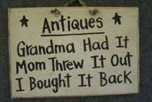 Sign fun / Vintage, vintage style signs / by Carole Hardin