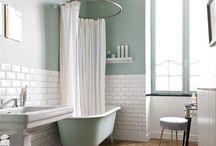 salle de bain carrelage couleur