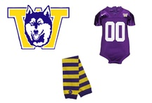Varsity! / Show support for your favorite team in style with our new Varsity collection warmers.