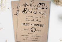 Baby Shower | Birthday Invitations Ideas for Boys