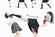 pose-martial art