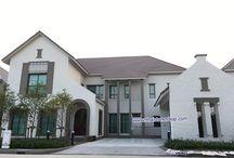 อิฐเทียม ABC-00 สีขาว ตกแต่งผนังตัวบ้านโครงการหมู่บ้าน / อิฐเทียม ABC-00 สีขาว ตกแต่งผนังตัวบ้านโครงการหมู่บ้าน www.thaistoneshop.com