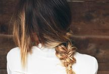 Hairstyles / Cute or chic hairstyles