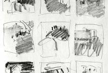 Idea stamps / thumbnails