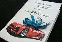 Card  Birthday male