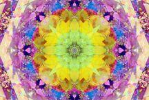 kaleidoscope sun