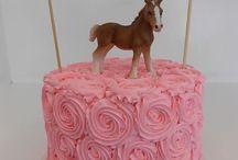 Presley's birthday cakes