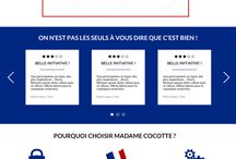 Webdesign by Coralie Rocque