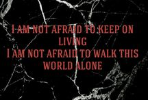 Quote creations / My favourite Lyrics  ☆ selfmade witch kwote