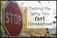 Homeschool Encouragement / by Jennifer Leonhard