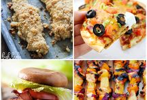 !!weekly meal plan!! / Collaborative weekly meal planning. 8 bloggers. 6 meal ideas and 2 desserts every single week equals one heck of a delicious menu. / by Love Bakes Good Cakes