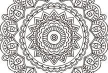 Mandalas y Zentangles