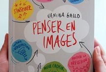 """""""Penser en images"""", le livre ! / """"Penser en images"""", le livre de Vanina Gallo (Ed. Mango Bien-Être) pour vous aider à stimuler introspections et réflexions collectives par le dessin."""