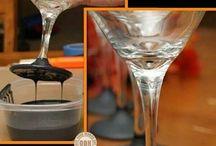 Flasker / Forskellige måder at designe flasker på...